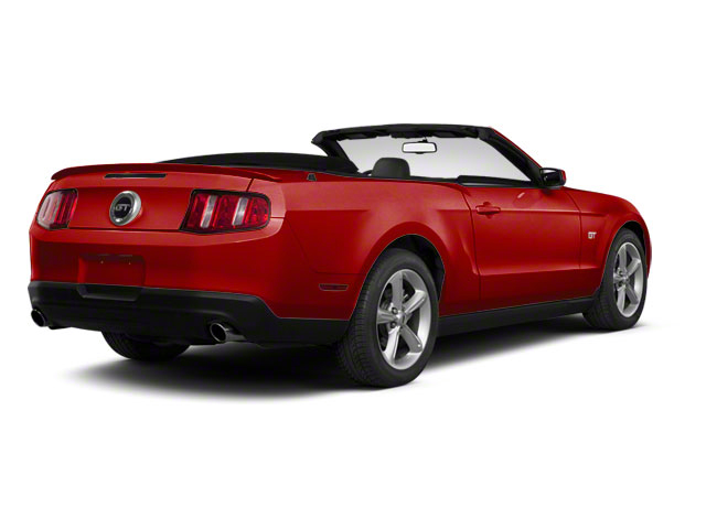 Red Candy Metallic 2011 Ford Mustang Pictures Mustang Convertible 2D GT photos rear view