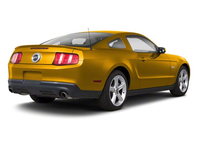 Yellow Blaze Metallic Tri-Coat 2011 Ford Mustang Pictures Mustang Coupe 2D GT photos rear view