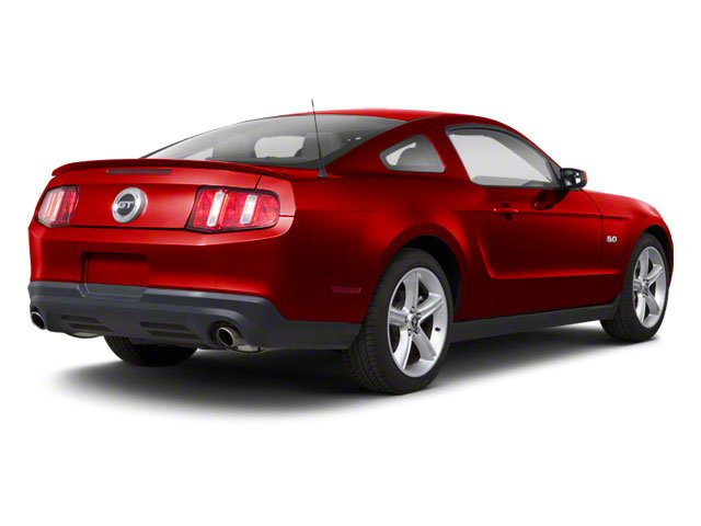 Race Red 2011 Ford Mustang Pictures Mustang Coupe 2D Shelby GT500 photos rear view