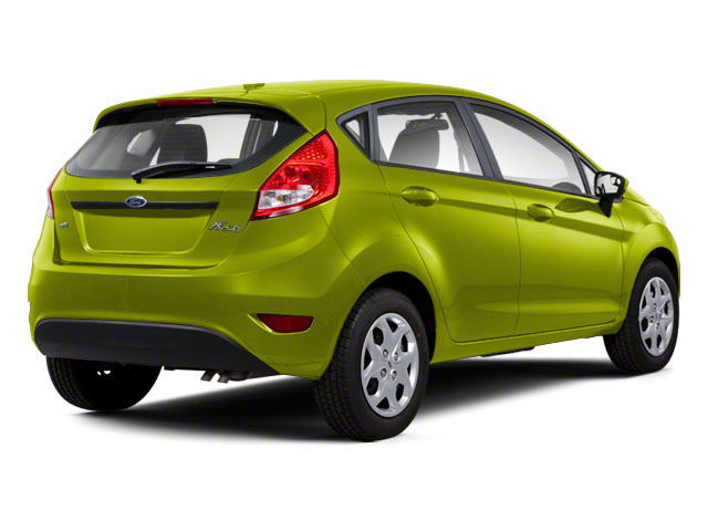 Lime Squeeze Metallic 2011 Ford Fiesta Pictures Fiesta Hatchback 5D SE photos rear view