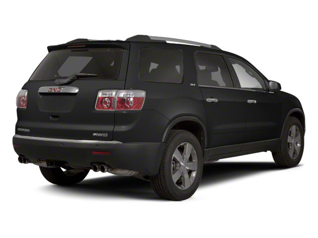 Carbon Black Metallic 2011 GMC Acadia Pictures Acadia Wagon 4D SLE AWD photos rear view