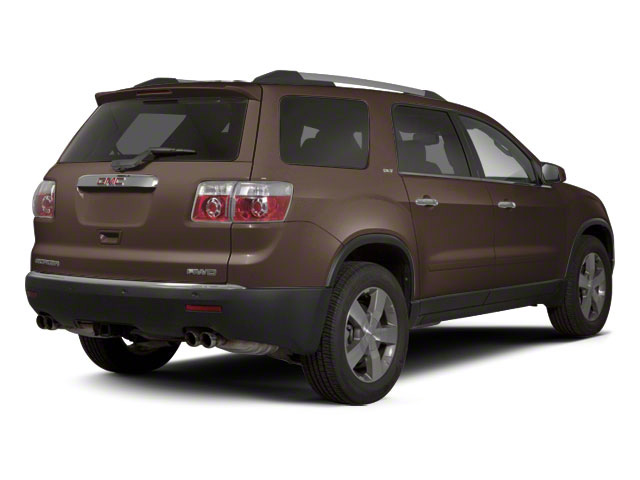Medium Brown Metallic 2011 GMC Acadia Pictures Acadia Wagon 4D SLE AWD photos rear view