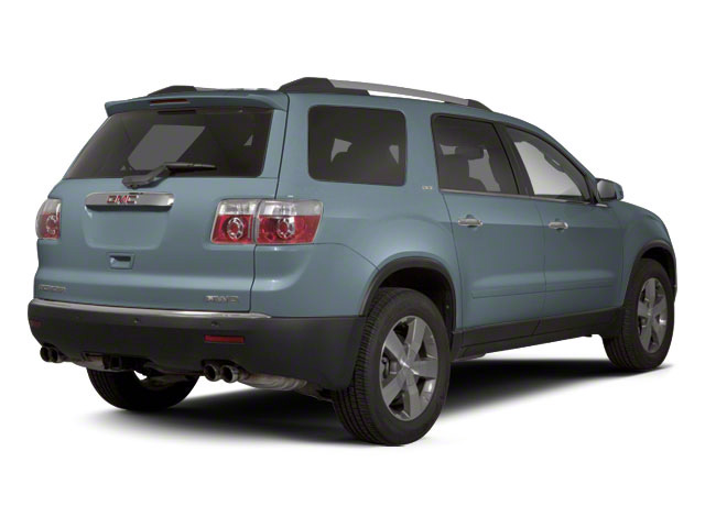 Ice Blue Metallic 2011 GMC Acadia Pictures Acadia Wagon 4D SLE AWD photos rear view