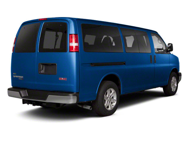 Deep Blue Metallic 2011 GMC Savana Passenger Pictures Savana Passenger Savana LS 135 photos rear view