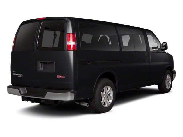 Onyx Black 2011 GMC Savana Passenger Pictures Savana Passenger Savana LS 135 photos rear view