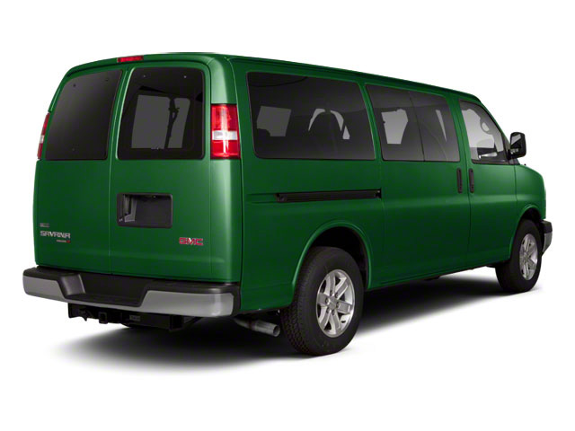 Polo Green Metallic 2011 GMC Savana Passenger Pictures Savana Passenger Savana LS 135 photos rear view