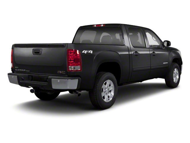 Onyx Black 2011 GMC Sierra 1500 Pictures Sierra 1500 Crew Cab SLE 2WD photos rear view