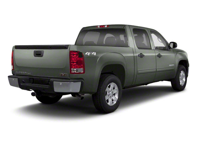 Gray Green Metallic 2011 GMC Sierra 1500 Pictures Sierra 1500 Crew Cab SLE 2WD photos rear view