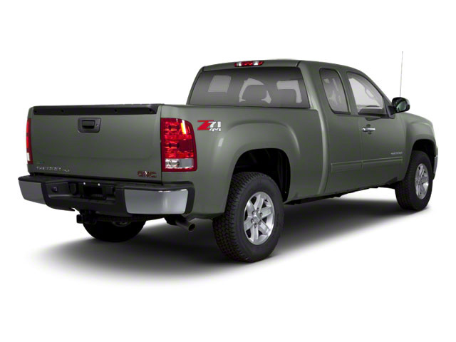 Gray Green Metallic 2011 GMC Sierra 1500 Pictures Sierra 1500 Extended Cab SL 4WD photos rear view