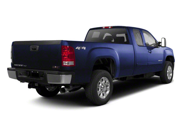 Midnight Blue Metallic 2011 GMC Sierra 2500HD Pictures Sierra 2500HD Extended Cab SLE 4WD photos rear view