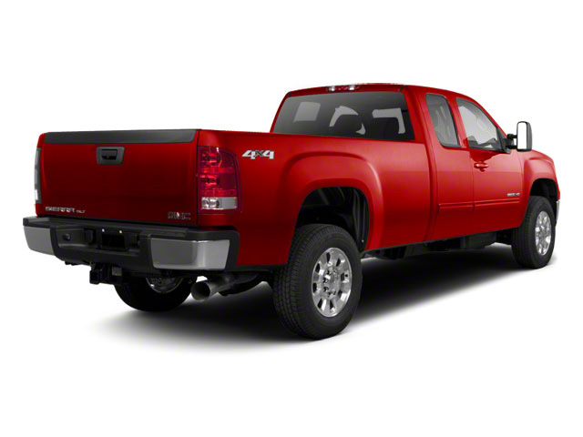Fire Red 2011 GMC Sierra 2500HD Pictures Sierra 2500HD Extended Cab SLE 4WD photos rear view