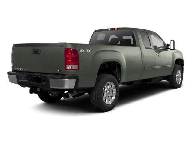 Gray Green Metallic 2011 GMC Sierra 2500HD Pictures Sierra 2500HD Extended Cab SLE 4WD photos rear view