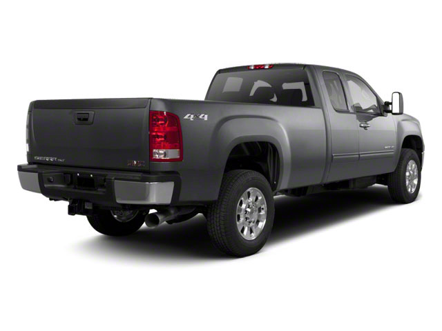 Storm Gray Metallic 2011 GMC Sierra 2500HD Pictures Sierra 2500HD Extended Cab SLE 4WD photos rear view