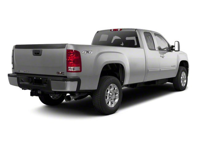 Pure Silver Metallic 2011 GMC Sierra 2500HD Pictures Sierra 2500HD Extended Cab SLE 4WD photos rear view