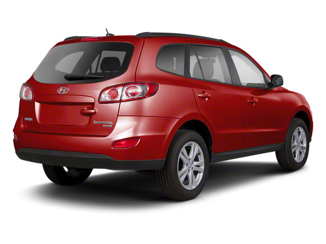 Sonoran Red 2011 Hyundai Santa Fe Pictures Santa Fe Utility 4D Limited AWD photos rear view
