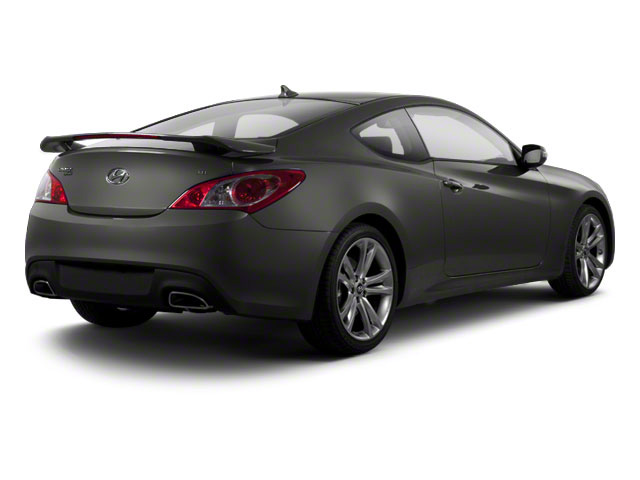 Nordschleife Gray 2011 Hyundai Genesis Coupe Pictures Genesis Coupe 2D photos rear view