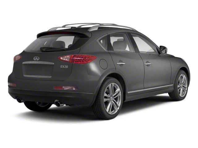 Graphite Shadow 2011 INFINITI EX35 Pictures EX35 Wagon 4D 2WD photos rear view