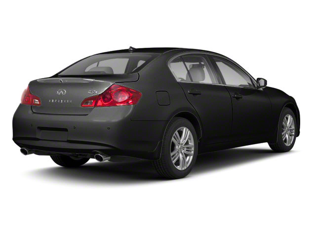 Black Obsidian 2011 INFINITI G37 Sedan Pictures G37 Sedan 4D photos rear view