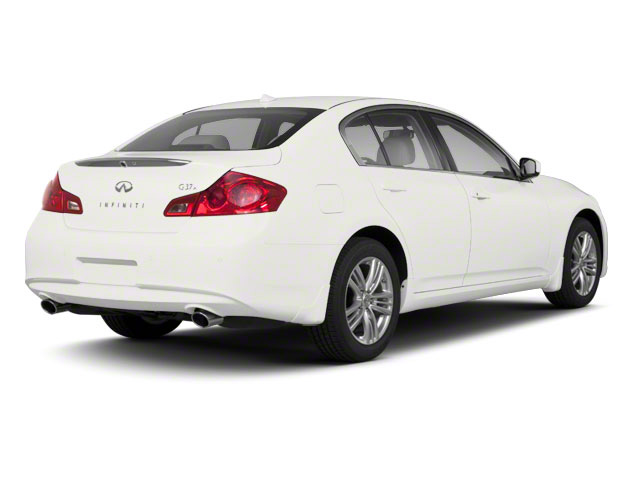 Moonlight White 2011 INFINITI G37 Sedan Pictures G37 Sedan 4D photos rear view