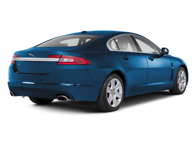 Crystal Blue 2011 Jaguar XF Pictures XF Sedan 4D photos rear view