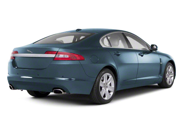 Frost Blue 2011 Jaguar XF Pictures XF Sedan 4D photos rear view