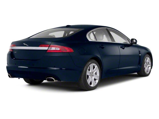Indigo Blue 2011 Jaguar XF Pictures XF Sedan 4D photos rear view