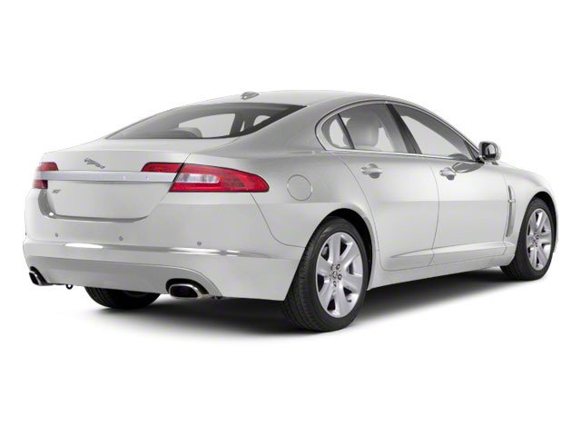 Polaris White 2011 Jaguar XF Pictures XF Sedan 4D photos rear view