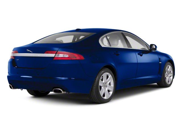 Spectrum Blue 2011 Jaguar XF Pictures XF Sedan 4D XFR Supercharged photos rear view