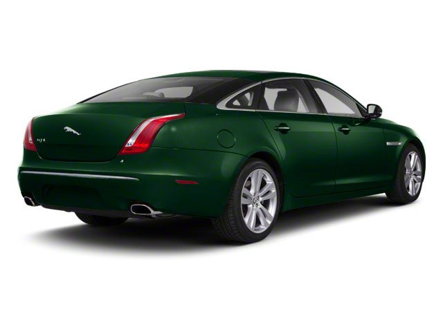 Botanical Green 2011 Jaguar XJ Pictures XJ Sedan 4D L Supersport photos rear view