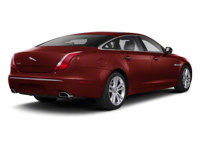 Claret 2011 Jaguar XJ Pictures XJ Sedan 4D L Supersport photos rear view