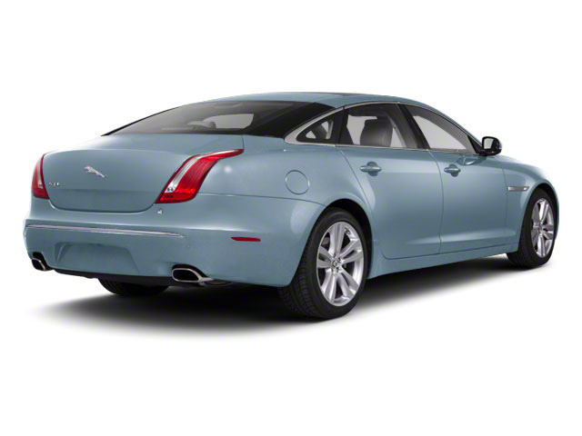Frost Blue 2011 Jaguar XJ Pictures XJ Sedan 4D L Supersport photos rear view