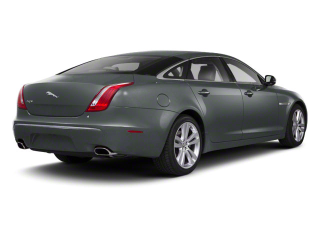 Lunar Grey 2011 Jaguar XJ Pictures XJ Sedan 4D L Supersport photos rear view