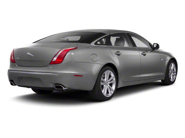 Liquid Silver 2011 Jaguar XJ Pictures XJ Sedan 4D L Supersport photos rear view