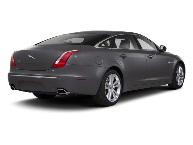 Pearl Grey 2011 Jaguar XJ Pictures XJ Sedan 4D L Supersport photos rear view