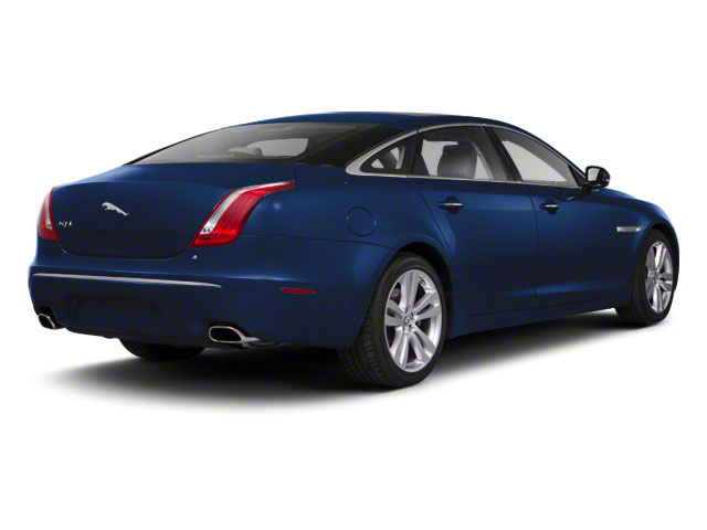 Spectrum Blue 2011 Jaguar XJ Pictures XJ Sedan 4D L Supersport photos rear view