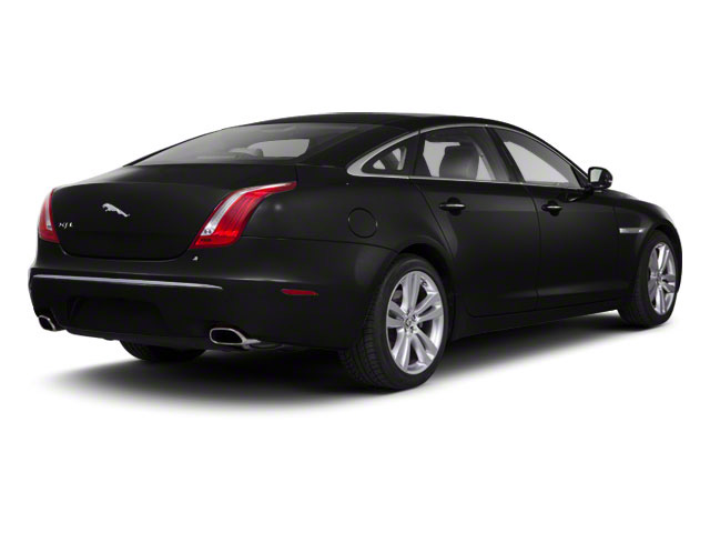 Ultimate Black 2011 Jaguar XJ Pictures XJ Sedan 4D L Supersport photos rear view