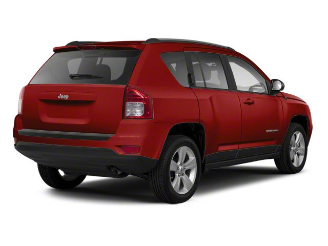 Deep Cherry Red Crystal Pearl 2011 Jeep Compass Pictures Compass Utility 4D Limited 4WD photos rear view