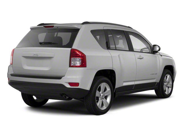 Bright Silver Metallic 2011 Jeep Compass Pictures Compass Utility 4D Limited 4WD photos rear view