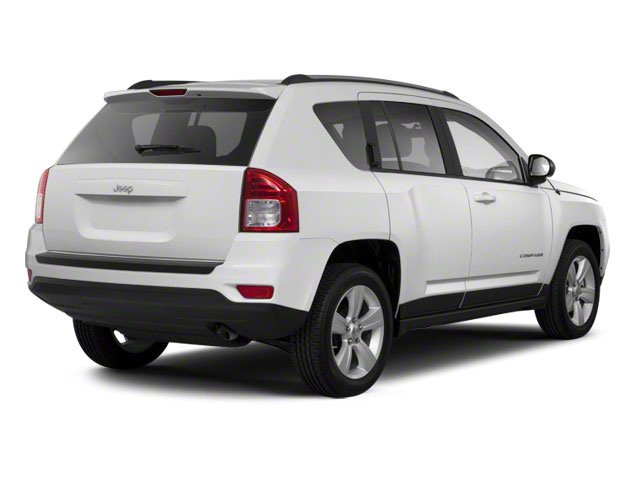 Bright White 2011 Jeep Compass Pictures Compass Utility 4D Sport 2WD photos rear view