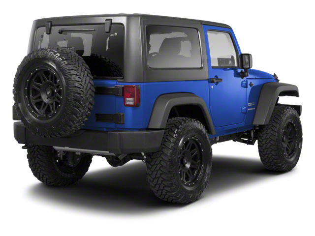 Cosmos Blue 2011 Jeep Wrangler Pictures Wrangler Utility 2D Rubicon 4WD photos rear view