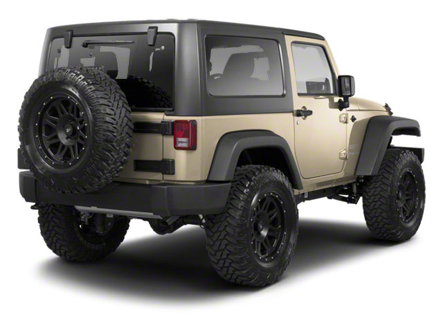 Sahara Tan Clear Coat 2011 Jeep Wrangler Pictures Wrangler Utility 2D Rubicon 4WD photos rear view