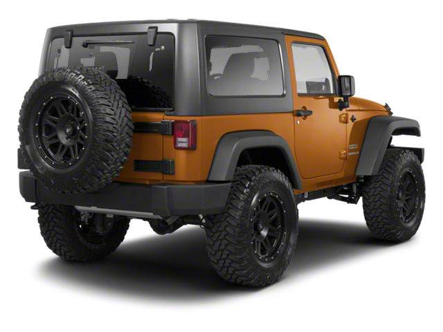 Bronze Star Pearl 2011 Jeep Wrangler Pictures Wrangler Utility 2D Anniversary 4WD photos rear view
