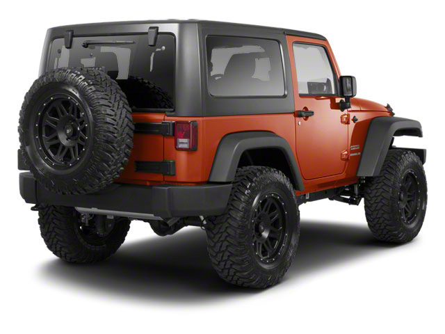 Mango Tango Pearl 2011 Jeep Wrangler Pictures Wrangler Utility 2D Rubicon 4WD photos rear view