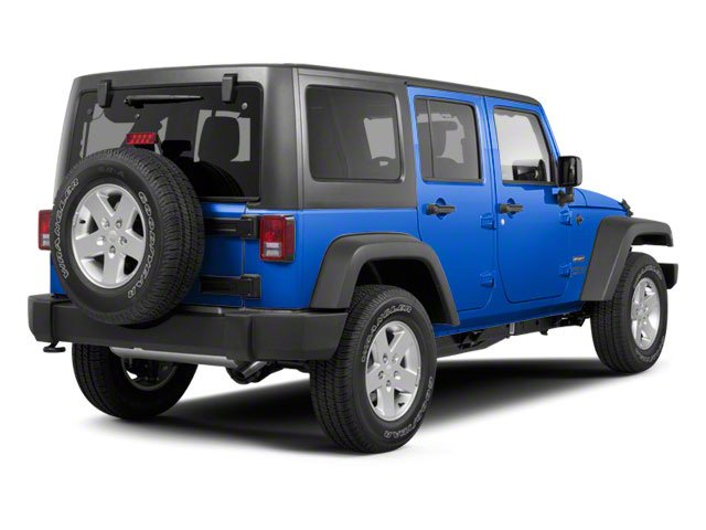 Cosmos Blue 2011 Jeep Wrangler Unlimited Pictures Wrangler Unlimited Utility 4D Unlimited Sahara 4WD photos rear view