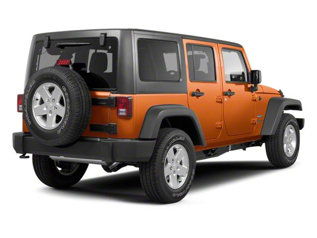 Mango Tango Pearl 2011 Jeep Wrangler Unlimited Pictures Wrangler Unlimited Utility 4D Unlimited Sport 4WD photos rear view