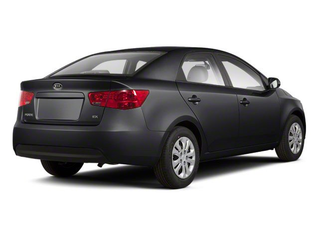 Ebony Black 2011 Kia Forte Pictures Forte Sedan 4D SX photos rear view