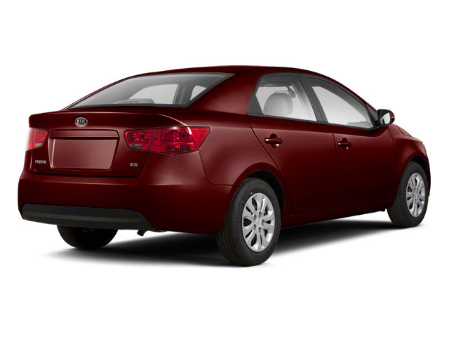 Spicy Red Metallic 2011 Kia Forte Pictures Forte Sedan 4D SX photos rear view