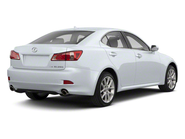 Glacier Frost Mica 2011 Lexus IS 250 Pictures IS 250 Sedan 4D IS250 photos rear view