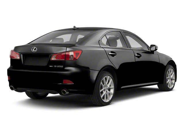Obsidian 2011 Lexus IS 250 Pictures IS 250 Sedan 4D IS250 photos rear view