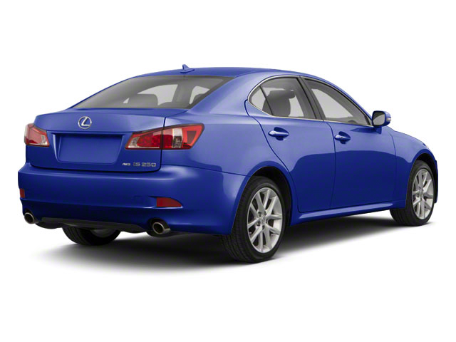Ultrasonic Blue Mica 2011 Lexus IS 350 Pictures IS 350 Sedan 4D IS350 photos rear view
